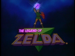 The Legend of Zelda TV Series (logo)