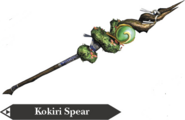 Hyrule Warriors Spear Kokiri Spear (Render)