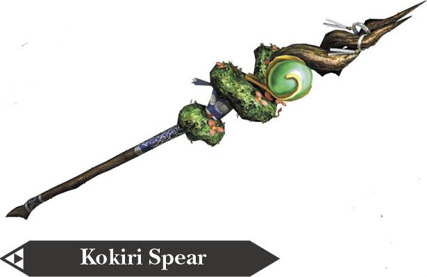 File:Hyrule Warriors Spear Kokiri Spear (Render).png