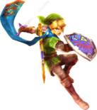Link Master Sword (Hyrule Warriors)