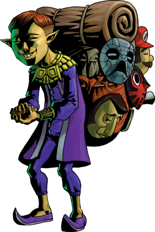 File:Happy Mask Salesman Artwork (Majora's Mask).png