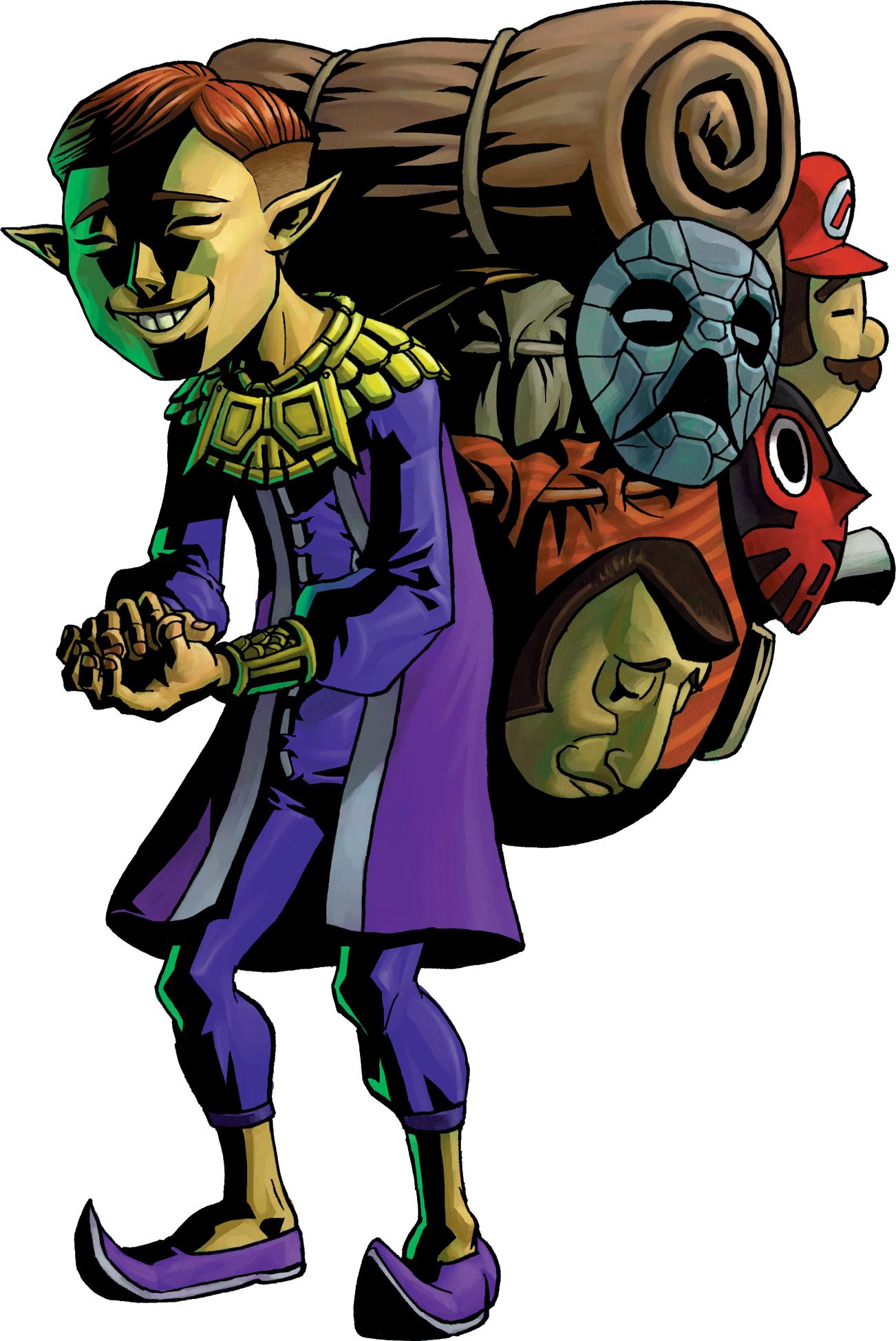 Happy Mask Salesman Happy Mask Salesman Artwork
