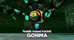 Queen Gohma Battle