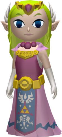 File:The Wind Waker Figurine Princess Zelda (Render).png