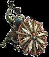 Hyrule Warriors Enemies Shield Bulblin (Render)