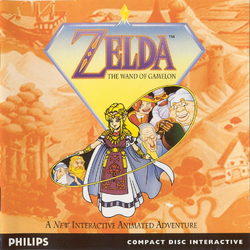 Zelda - The Wand of Gamelon (box)