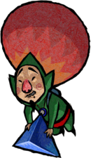 Tingle Artwork (Four Swords Adventures)