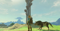 Breath of the Wild Wolf Link Link & Wolf Link (amiibo companion)