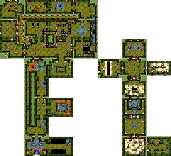 Key Cavern Map
