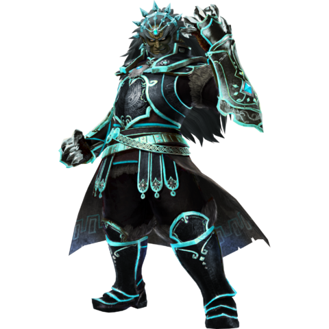 File:Hyrule Warriors Legends Ganondorf Standard Armor (Phantom Ganon Recolor - Master Wind Waker DLC).png