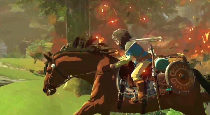 botw how to catch wild horse