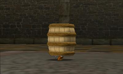 File:Hyrule Warriors Legends Toon Link Barrel (Battle Intro).png