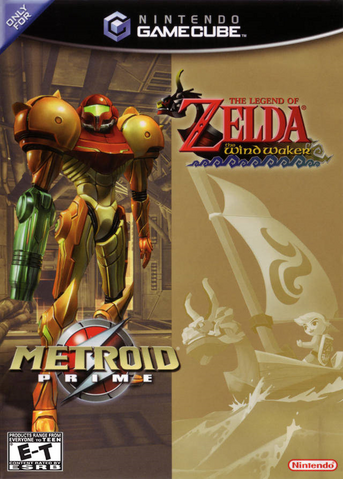 File:The Legend of Zelda - The Wind Waker & Metroid Prime Bundle.png