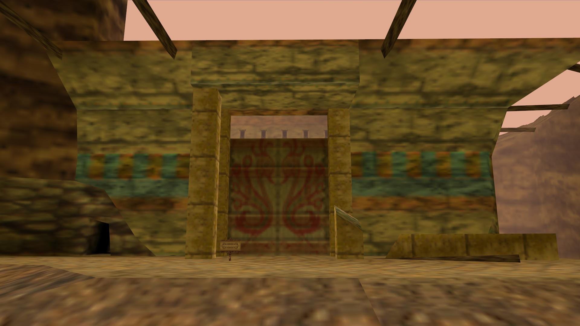 ikana castle front gate zeldapedia fandom powered by wikia
