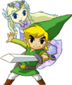 Link and Princess Zelda (Spirit Tracks)