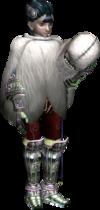 Twilight Princess Ashei Snowpeak Yeti Cloak (Render)