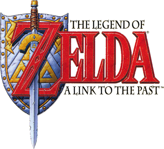 File:The Legend of Zelda - A Link to the Past (logo).png