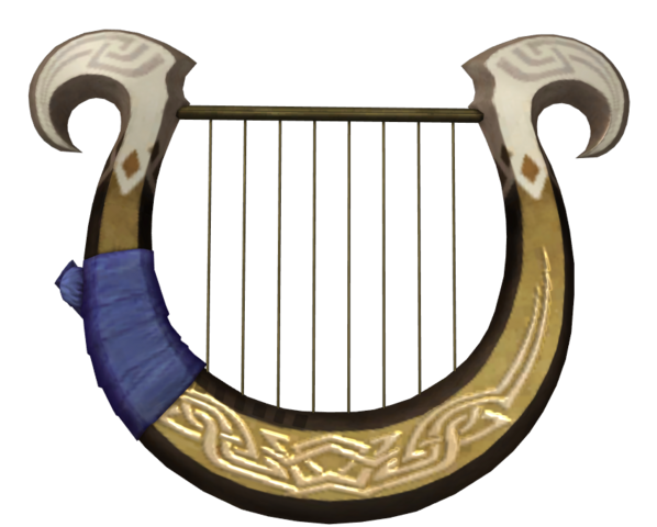 File:Hyrule Warriors Goddess's Harp (Render).png