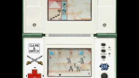 Game & Watch Zelda