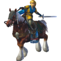 Hyrule Warriors Link Hero's Clothes (Twilight - Yellow Recolor)