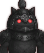 Hyrule Warriors Captains Dark Goron Captain (Dialog Box Portrait)