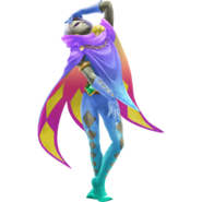 Hyrule Warriors Legends Ghirahim Standard Outfit (Kalle Demos Recolor)