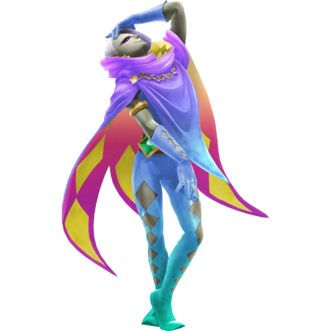 File:Hyrule Warriors Legends Ghirahim Standard Outfit (Kalle Demos Recolor).png