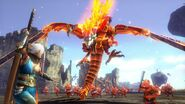 Hyrule Warriors Volga Dragon Form