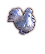 Hyrule Warriors Cuccos Silver Cucco (Dialog Box Portrait)