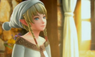 Hyrule Warriors Legends Linkle's Tale Linkle waking up in her Pajamas (Cutscene)