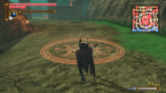 Hyrule Warriors Demon Blade Magic Circle