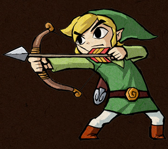 File:Link with Bow (Four Swords).jpg
