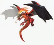 Hyrule Warriors Artwork Dragon Volga (Concept Art)