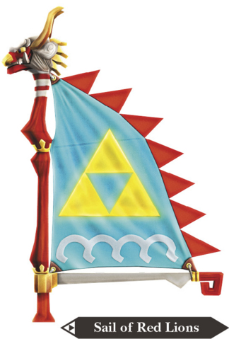 File:Hyrule Warriors Legends Sail Sail of Red Lion (Render).png