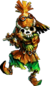 Skull Kid with Skull Mask