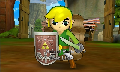 File:Hyrule Warriors Legends Toon Link Hero of Winds, Toon Link (Battle Intro).png