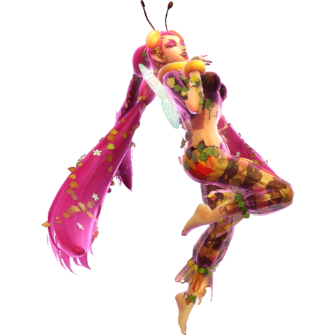 File:Hyrule Warriors Great Fairy Great Forest Fairy (Golden Bee Outfit - Level 2).png