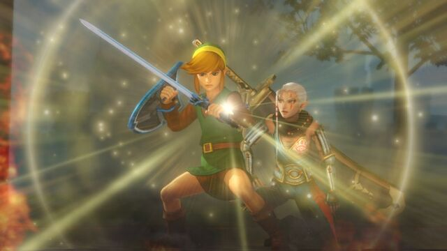 File:Classic Link wielding White Sword.jpg