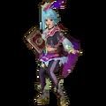 Hyrule Warriors Legends Lana Standard Outfit (Koholint - Wind Fish Recolor).png