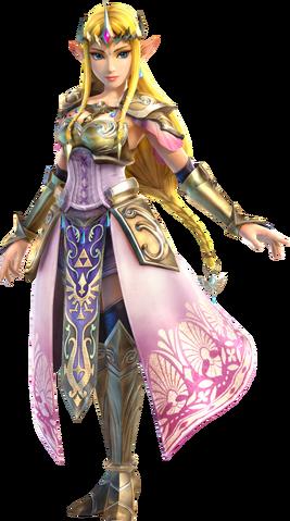 File:Hyrule Warriors - Zelda Artwork.png