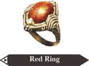 Hyrule Warriors Ring Red Ring (Render)