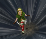 Hyrule Warriors Boots Pegasus Boots Dash (Victory Cutscene)