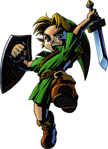 File:Link Artwork 2 (Majora's Mask).png