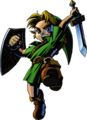 Link Artwork 2 (Majora's Mask)