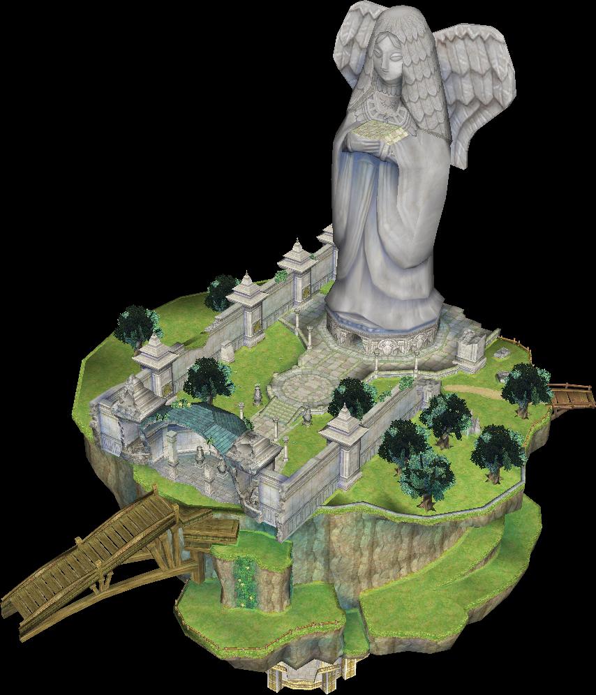 Statue Of The Goddess Zeldapedia Fandom Powered By Wikia