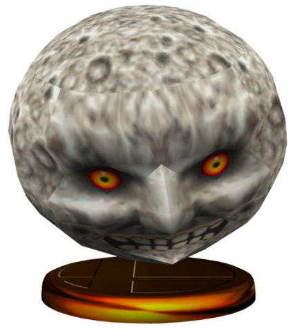 File:Super Smash Bros. Melee Trophies Moon (Render).png