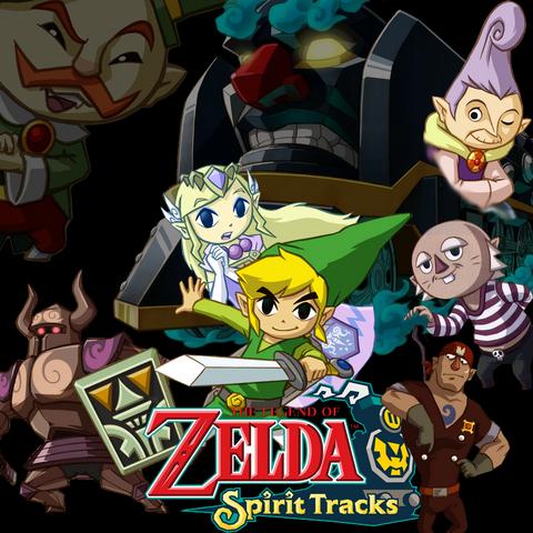 File:Legend of Zelda Spirit Tracks by l Silver l.png
