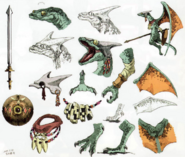 Twilight Princess Artwork Aeralfos (Concept Art Hyrule Historia)
