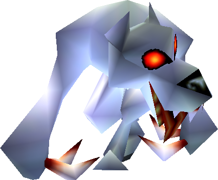 File:White Wolfos (Ocarina of Time and Majora's Mask).png