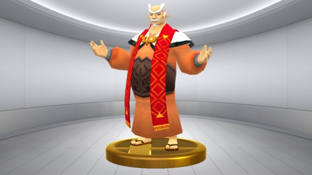 File:Super Smash Bros. for Wii U Headmaster Gaepora (Skyward Sword) Gaepora (Trophy).png